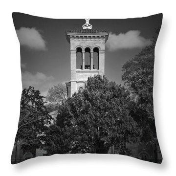 Hidden Church On Thames Throw Pillow by Maj Seda