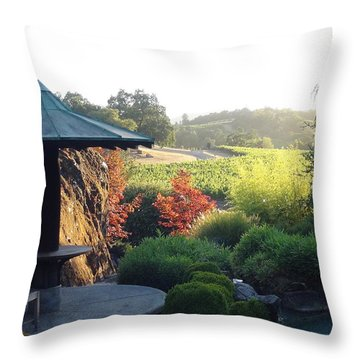 Hide Out  Throw Pillow by Shawn Marlow