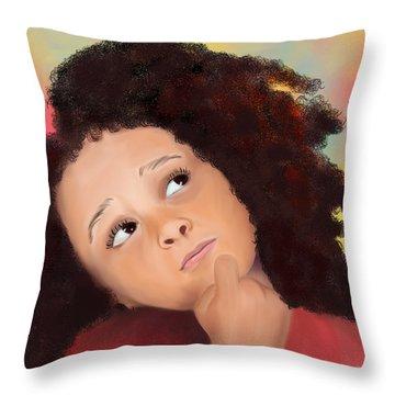 High Hopes Throw Pillow by Sydne Archambault