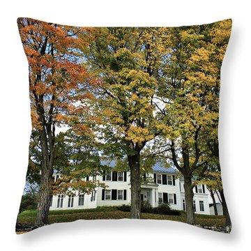 Highgate Beauty Throw Pillow by Deborah Benoit