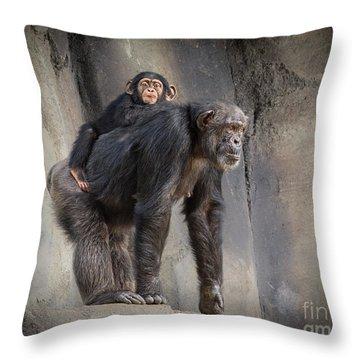 Hmmmm Throw Pillow by Jamie Pham
