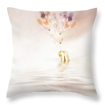Hold On To Hope Throw Pillow by Jacky Gerritsen