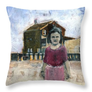 Holiday Throw Pillow by Susan McCarrell
