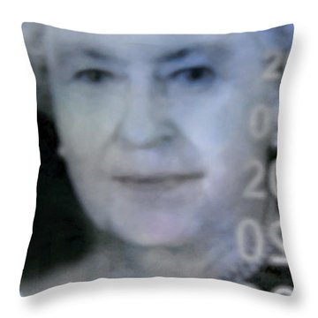 Holographic Majesty Throw Pillow by Danielle  Parent