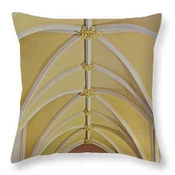 Holy Arches Throw Pillow by Susan Candelario
