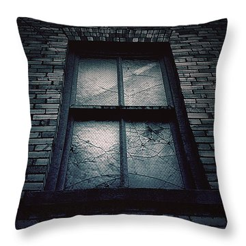 Home I'll Never Be Throw Pillow by Trish Mistric