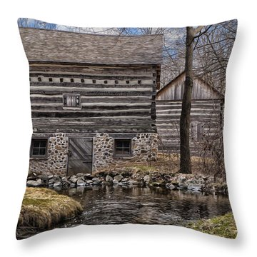 Homestead 5 Throw Pillow by Jack Zulli