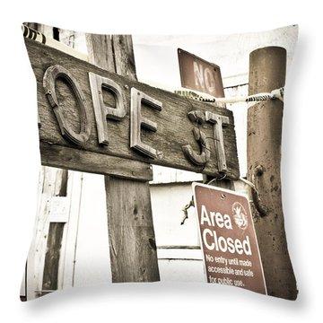 Hope Street Throw Pillow by Priya Ghose