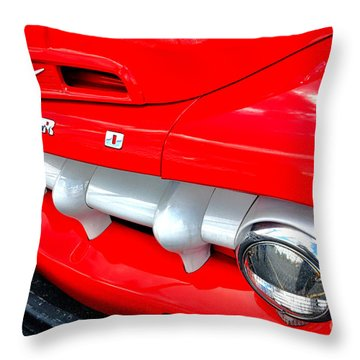 Hot Ford Throw Pillow by Olivier Le Queinec