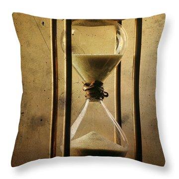 Hourglass  Throw Pillow by Bernard Jaubert