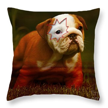 House Broken Throw Pillow by Marvin Blaine