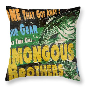 Humongous Brothers Throw Pillow by JQ Licensing