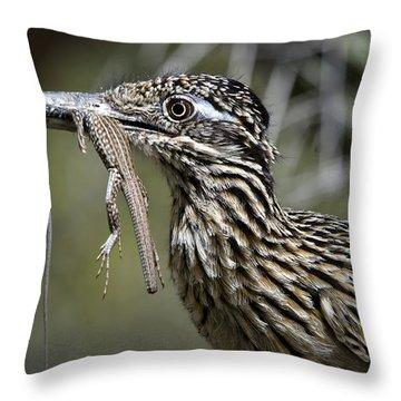 Hungry Anyone??  Throw Pillow by Saija  Lehtonen