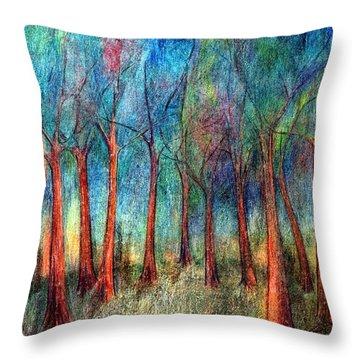 I Arose Morning  Throw Pillow by Wojtek Kowalski