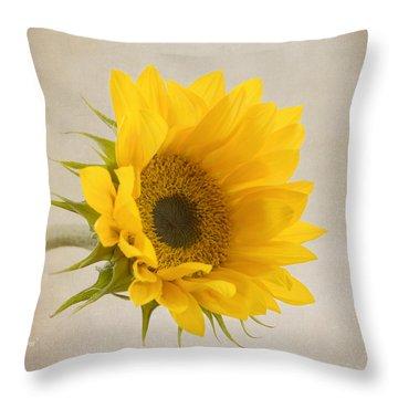 I See Sunshine Throw Pillow by Kim Hojnacki