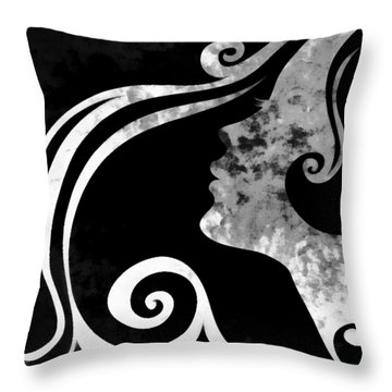 I Will Wait For You 3 Throw Pillow by Angelina Vick