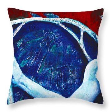 Icarus Throw Pillow by Derrick Higgins