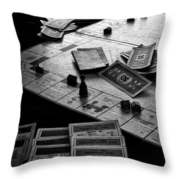 Iconic Game Throw Pillow by Camille Lopez