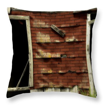 If Walls Could Talk Throw Pillow by Cris Hayes