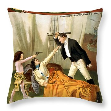 If You Strike My Mother Throw Pillow by Terry Reynoldson