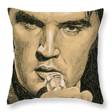 If You're Looking For Trouble Throw Pillow by Rob De Vries