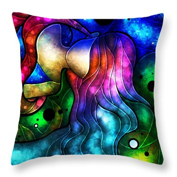 Ignorance Isnt Bliss Throw Pillow by Mandie Manzano
