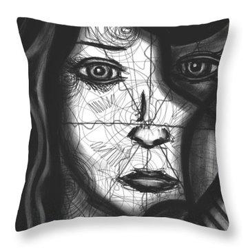 Illumination Of Self Throw Pillow by Daina White