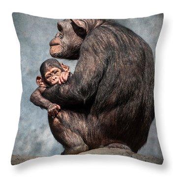 I'm All Ears Throw Pillow by Jamie Pham