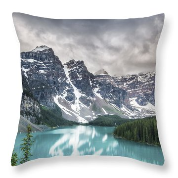 Imaginary Waters Throw Pillow by Jon Glaser