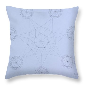 Impossible Parallels Throw Pillow by Jason Padgett