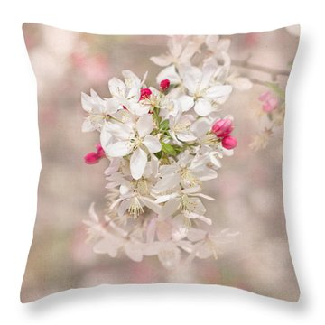 In A Moment Throw Pillow by Kim Hojnacki