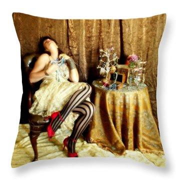 In Love Throw Pillow by Cindy Nunn