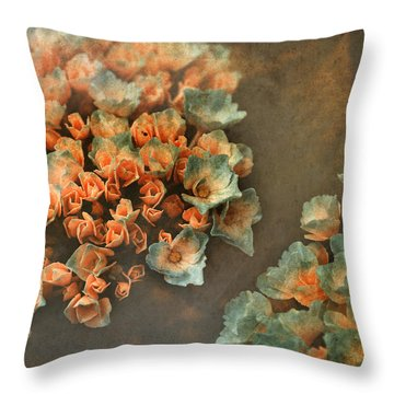 In My Dreams Throw Pillow by Bonnie Bruno