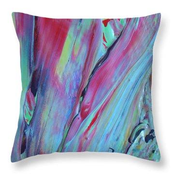 In No Sense Throw Pillow by Artist Ai
