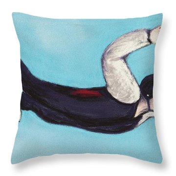 In The Air Throw Pillow by Anastasiya Malakhova