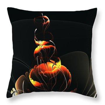 In The Dark Throw Pillow by Anastasiya Malakhova