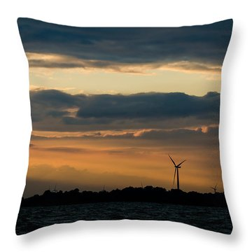 In The Spotlight Throw Pillow by Mark Papke
