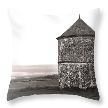 In Vexin Throw Pillow by Olivier Le Queinec