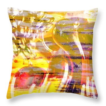 Indulge Throw Pillow by PainterArtist FIN