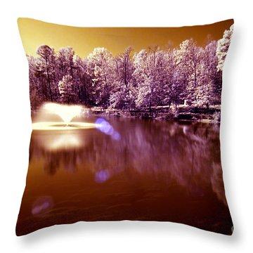 Infrared Study #242 Throw Pillow by Floyd Menezes