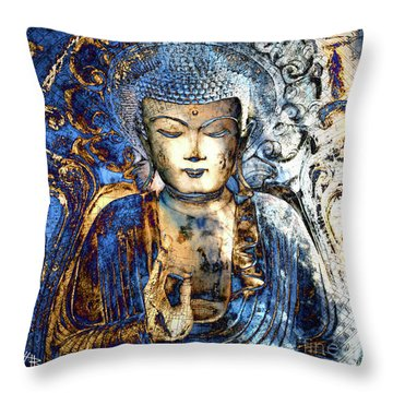 Inner Guidance Throw Pillow by Christopher Beikmann