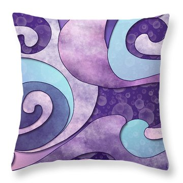 Inner Wisdom - Sagesse Interieure Throw Pillow by Louise Lamirande