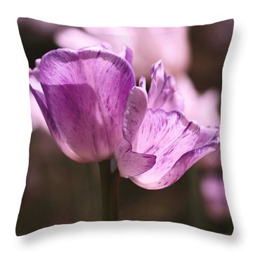 Inseparable Throw Pillow by Rona Black