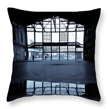 Insideout Throw Pillow by Colleen Kammerer