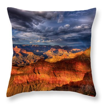 Inspiration Throw Pillow by Beth Sargent