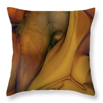 Intensity In Glass Throw Pillow by Omaste Witkowski