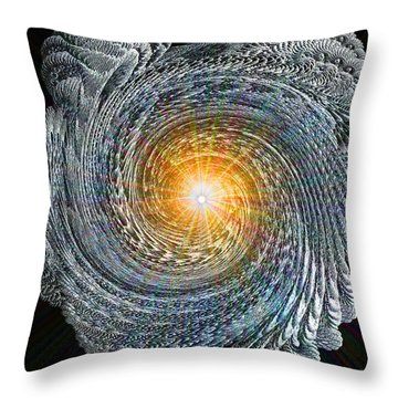 Intensity Throw Pillow by Michael Durst