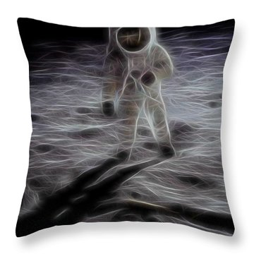 Interstellar Throw Pillow by Dan Sproul