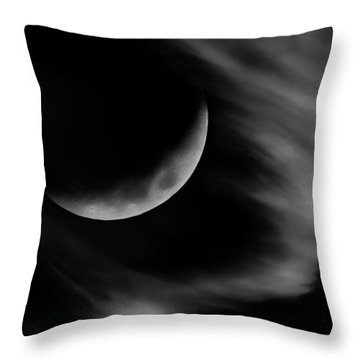 Into The Night Throw Pillow by Bill Wakeley