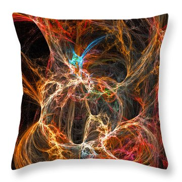 Intrigue Throw Pillow by Michael Durst